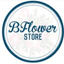 Logo Bucket Flowers Store