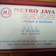 Logo Metro Jaya kenari mas