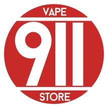 Logo 911 Vape Store