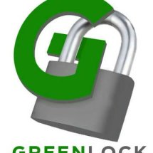 Logo Green Lock