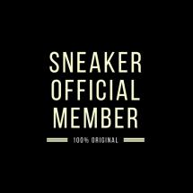 Logo sneaker official member