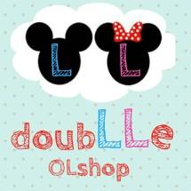 Logo doubLLe OLshop