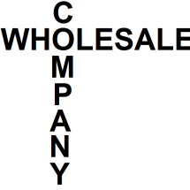 Logo wholesale company