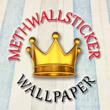 Logo methwallsticker