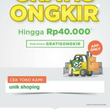 Logo unik shoping