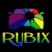 Logo Rubix Rubber Paint
