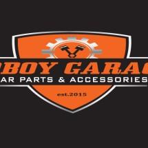 Logo boboy garage