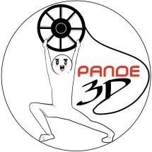 Pande 3D Logo