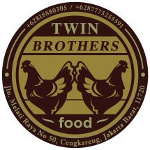 Twin brother Food Logo