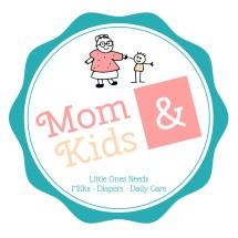 Logo Toko Susu Mom n Kids