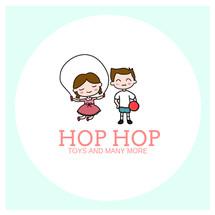Logo Hop Hop Store