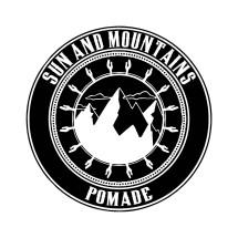 Logo Sun and Mountain Pomade