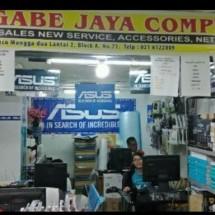 INDRI GABE JAYA COMPUTER Logo
