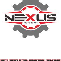 Logo nexus moto shop