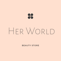 HER WORLD BEAUTY Logo