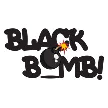 Logo black bomb