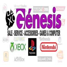Logo Genesis Gameshop
