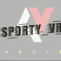 Logo sporty variasi mobil