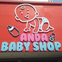 anda baby shop Logo