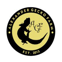 Logo Alexander Gecko Farm