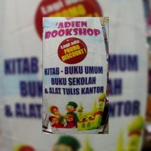 'ADien Bookshop Logo