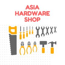 Logo Asia Hardware Shop