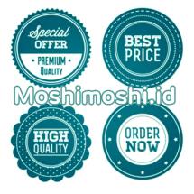 MoshiMoshi Olshop Logo