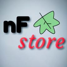 Logo nF store kediri