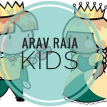 Logo Arav Raja Kids