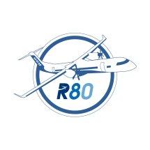 Logo Official Pesawat R80