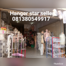 Logo Hanger star seller