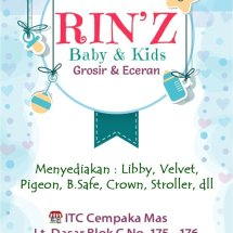 Rinz baby and kids Logo