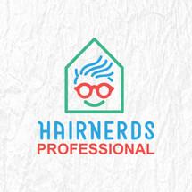 Hairnerds Professional Logo