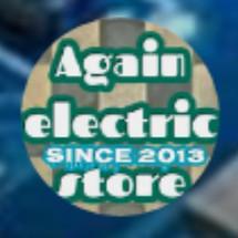 again electric Logo