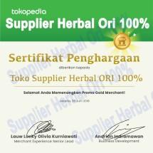 Supplier Herbal ORI 100% Logo