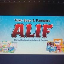 Logo toko susu & pampers alif