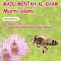 Logo Madu Mentah Al Kham