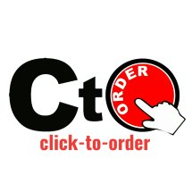 Logo click-to-order