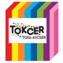 TOKCER TOko stiCKER Logo