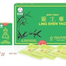 Logo Ling Shen Yao Obat Kista