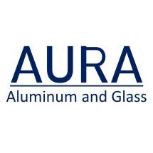Logo Alumunium dan Kaca Aura