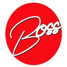 Logo Boss Aksesoris Mobil