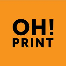 OH! Print Logo