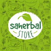 SAHERBAL STORE Logo