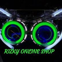 RIZKY ONLINE SHOP. Logo
