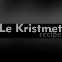 Le Krismet Recipe Logo
