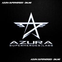 Logo azura superheroes labs