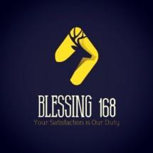 Logo Blessing_168