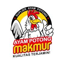Logo Ayam Potong Makmur