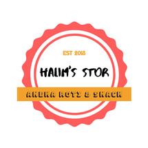 Logo Halim's Stor